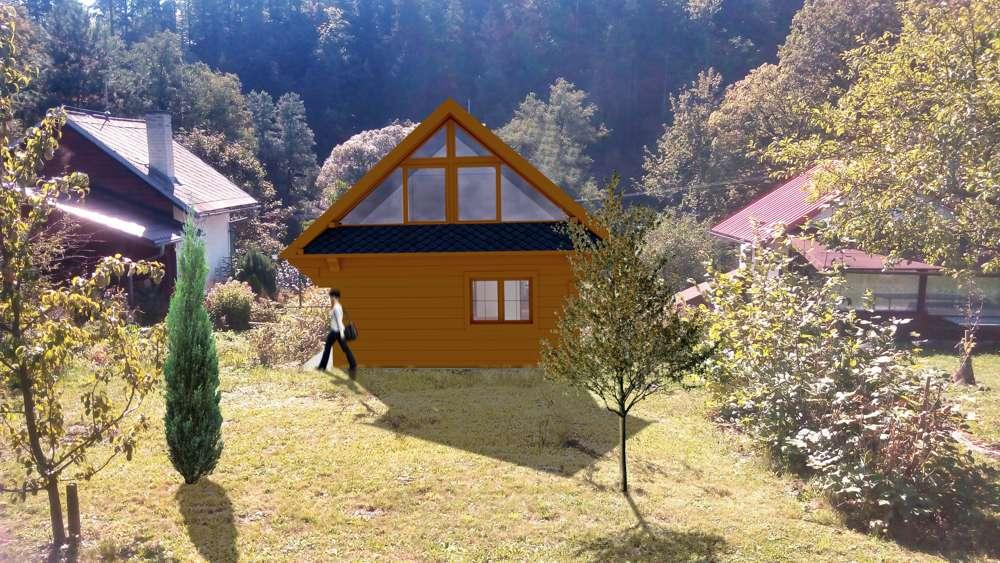 dřevěný domek Opava