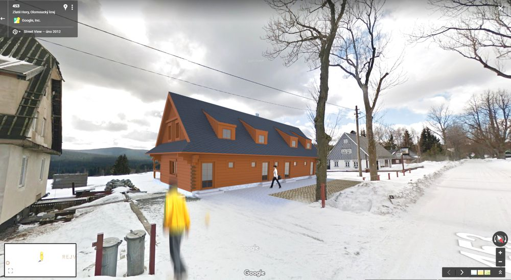 Roubený dům Opava projekt